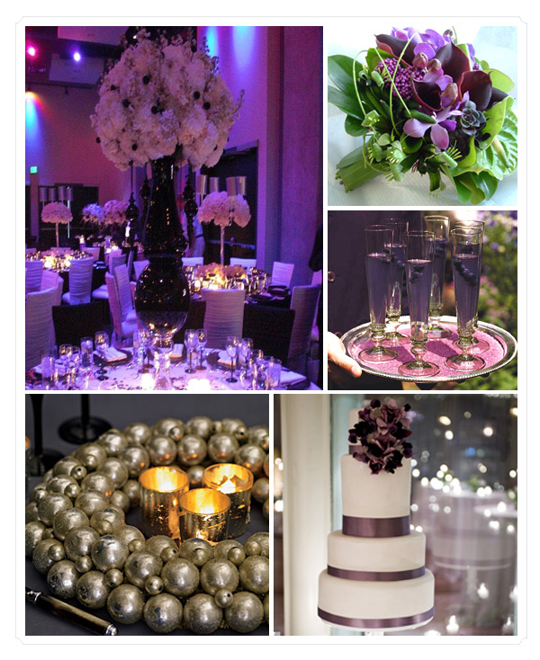 Francelle\'s blog: For a glamorous evening wedding you can 39t go ...
